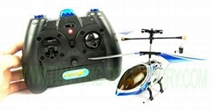 FalconX 3CH Built-in Gyroscope alloying Metal Micro RC Helicopter