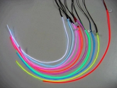 Sell electroluminescent cable el wire neon wire led flexible neon wire rope
