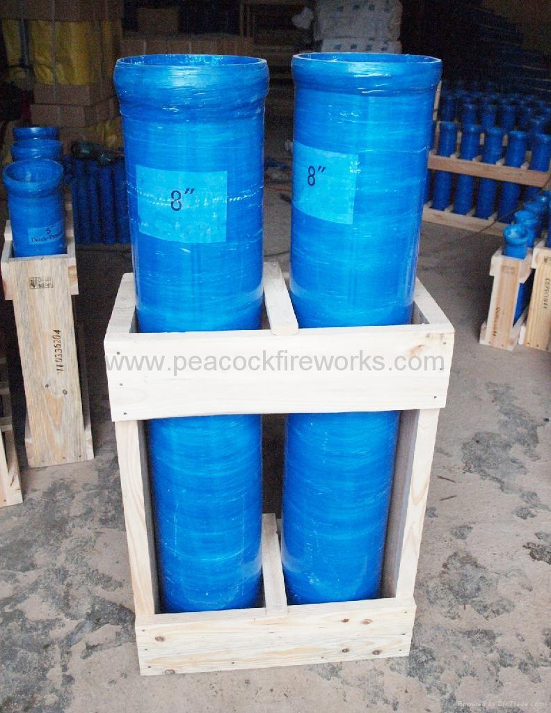 how to make mortar tubes
