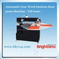 Automatic Four Work Stations Heat press Machine(TIP-6160)