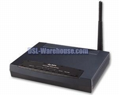ZyXEL P-660HW ADSL 2/2+ 4-Port Wireless Gateway