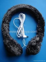 Innovative Valentine Gift-Plush Headphone