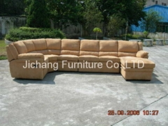 Sectional&recliner sofa