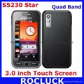 Original Samsung S5230 Star Quad Band with 3.0 inch Touch Screen (Refurbished) (Hot Product - 1*)
