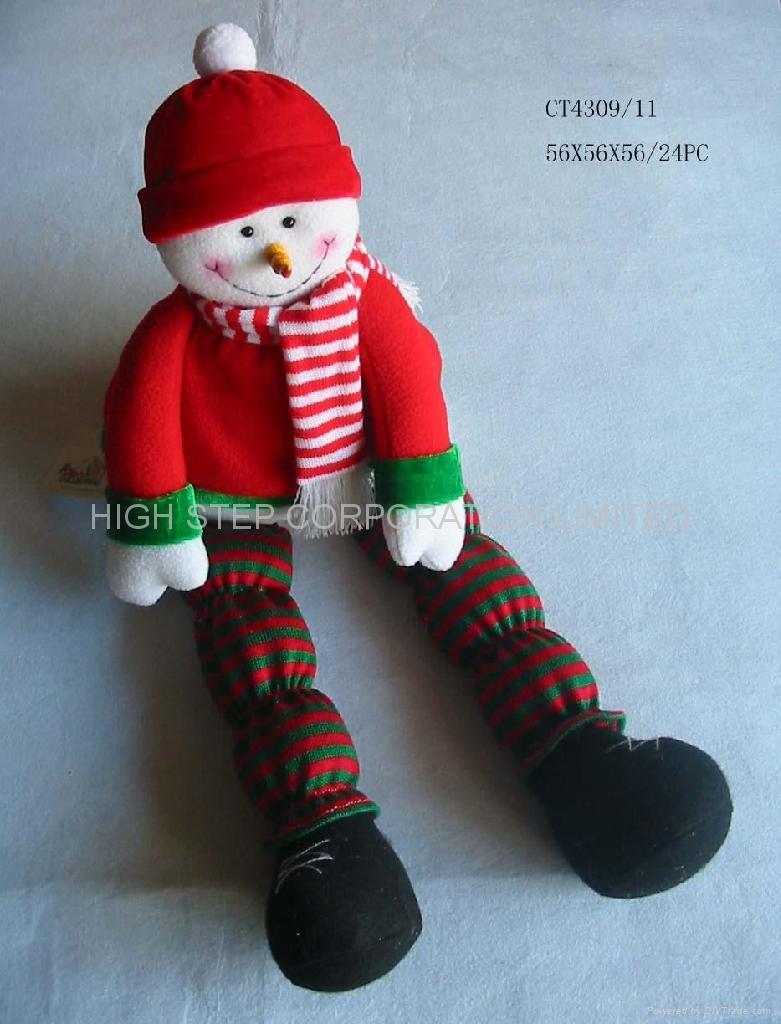 Christmas Plush Toys : Christmas plush toy quot highstep china