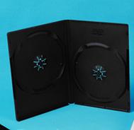 14MM BLACK DVD BOX
