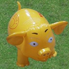 充气玩具猪