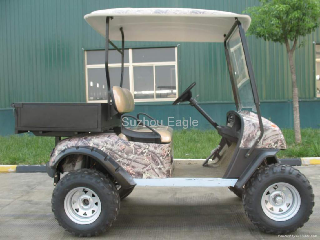 CE Certificated Electric Sport Hunting Buggy with utility cargo box 3