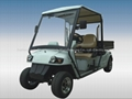 EEC homologated road legal electric utility car with cargo bed