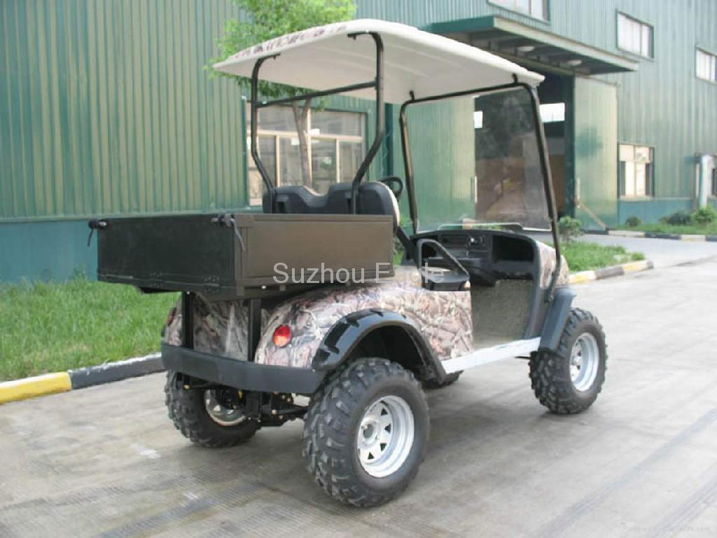 CE Certificated Electric Sport Hunting Buggy with utility cargo box 1