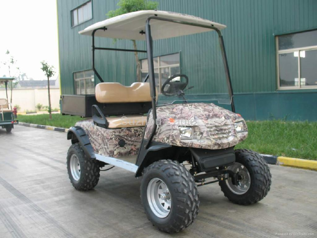 CE Certificated Electric Sport Hunting Buggy with utility cargo box 2