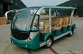 CE Approved 11 Seats Electric Shuttle Bus