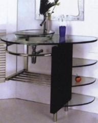 Bathroom,showerroom,bathtub,panel,glassbasin