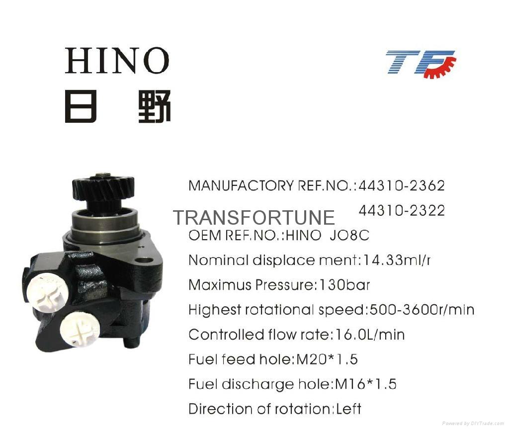 Brand New Steering Pump HINO 443102362/443102322