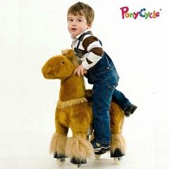 plush riding animal toy