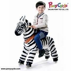 PonyCycle ride on aniaml toy zebra toy
