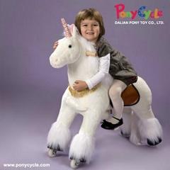 Ride On Horse Plush Toy