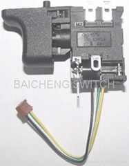 Power Tool Switch for Brushless application