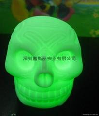 發光骷髏頭