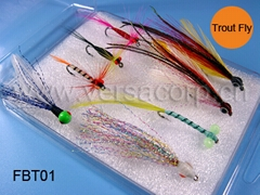 Trout And Salmon Box,Fishing Flies