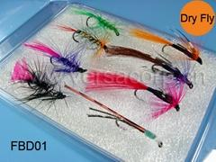 Dry Fly Box,Fishing Flies