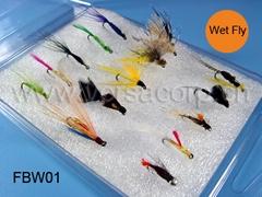 Wet Fly Box,Fishing Flies