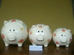 Ceramic Coin Bank Set/3