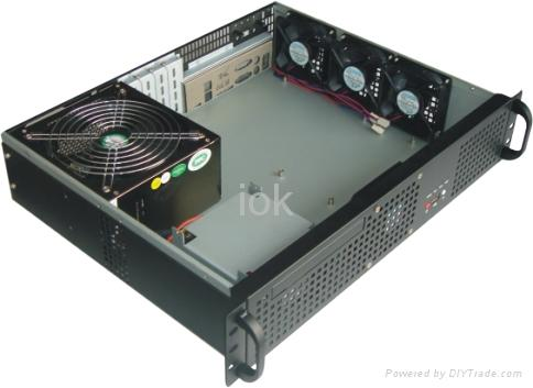 S2210 1u rack mount server case chassis iok china for Homemade rack case