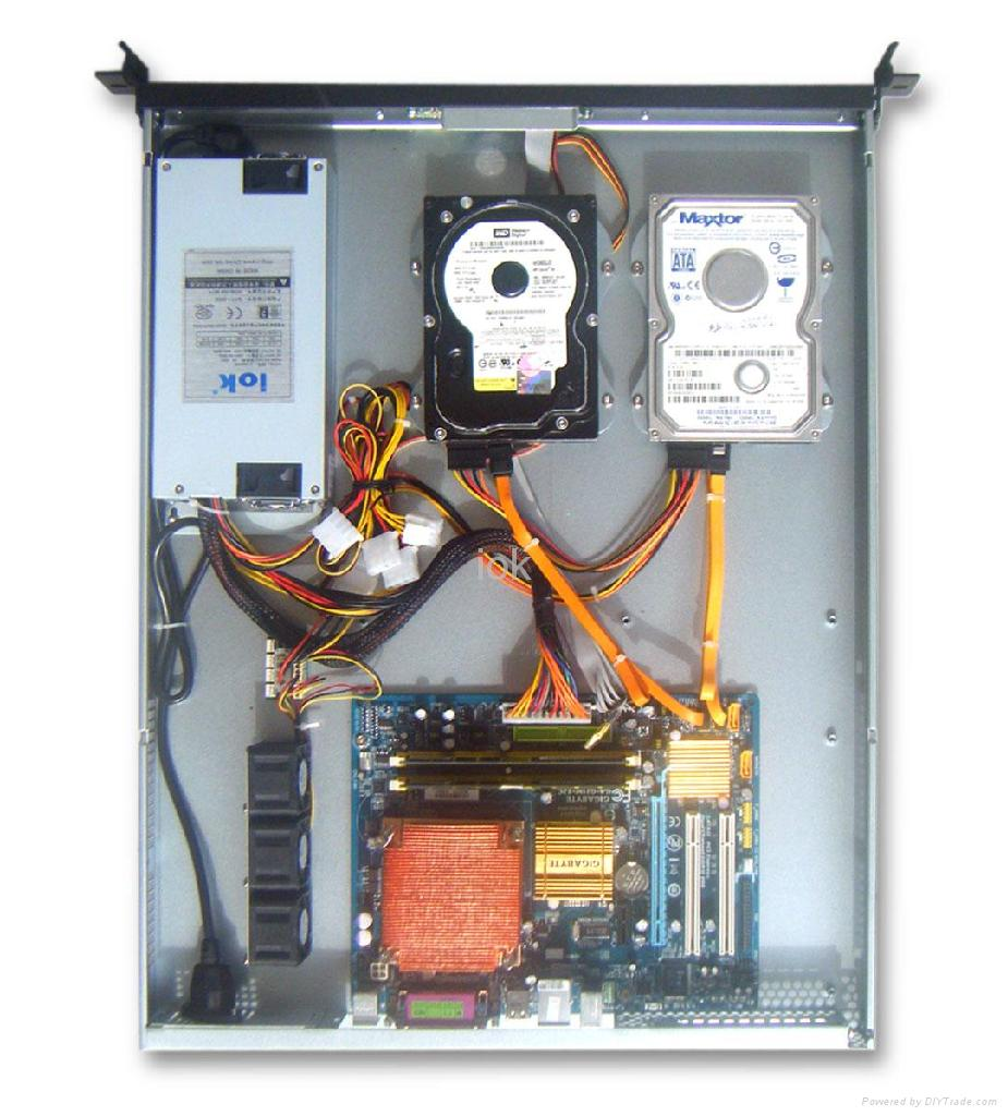 S1270 1u Rackmount Server Case Chassis Iok China