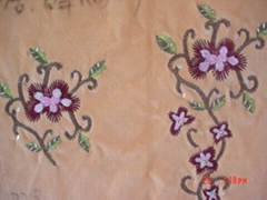 full embroidery fabric