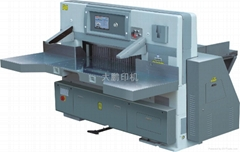 QZYK1370DH 触摸屏切纸机