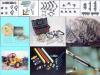 热熔管,铁件,PVC管,光缆,尾钎,接头盒