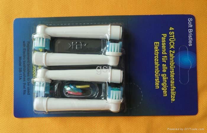 electrical toothbrush head with neutral packing  4