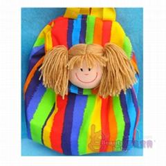 Doll-headed Schoolbag