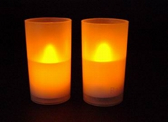 LED Candle with or without Flicker