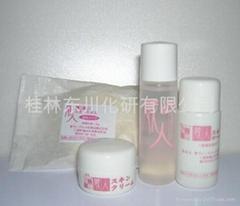 tester set(cleansingoil,pure soap,skin lotion,skincream)