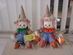 Halloween Basket Plush Toys