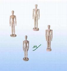 wooden manikin (MY90-1003)- stationery manikin