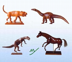 wooden animal statue (MY30-1001)- wooden carving, wooden crafts