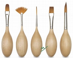 arts brush,wooden pottery tool kits,wooden pen (MY40-1002)