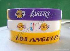 Silicone wristbands (bracelets)