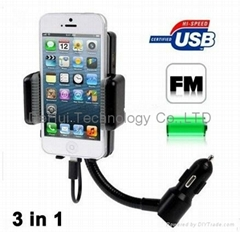 All kit car FM Transmitter for iphone 5S/5C/5