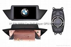 BMW X1 E84 Car DVD GPS Player radio Navigation head units HD LCD TV Ipod A2DP
