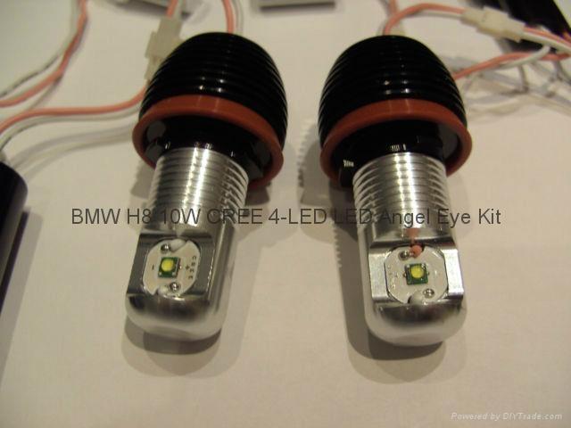Xenon White Led Angel Eye Marker Bmw X5 E70 Xenon 10w Cree
