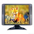 19 inch black A+ grade TFT-LCD Monitor(4:3)+TV-CT-KM519D