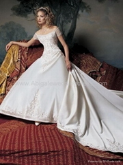 wedding dress,evening dress