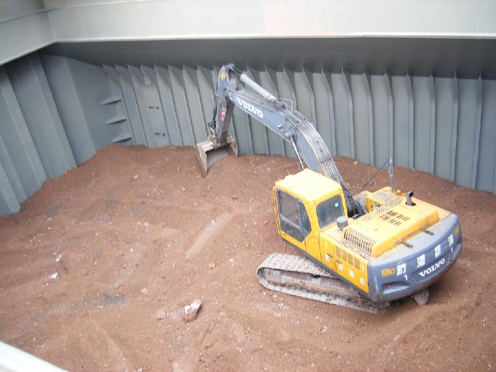 API drilling grade barite lump 2