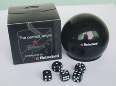 plastic dice shakers, plastic dice game