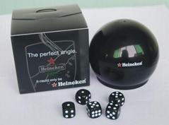 plastic dice shakers, plastic dice game