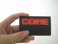 LED badge (scrolling display)